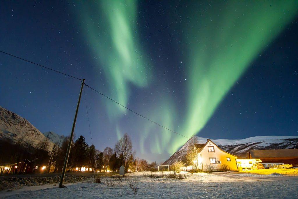 o que é a aurora boreal