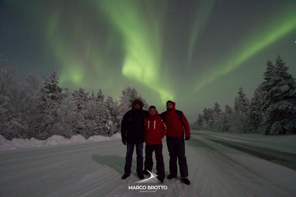 Aurora Boreal Laponia.