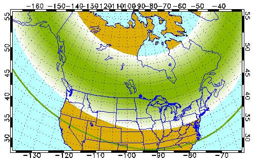 aurora boreal de grande tamanho poderá ocorrer devido tempestade magnética