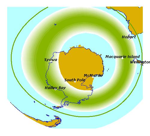 aurora austral patagonia