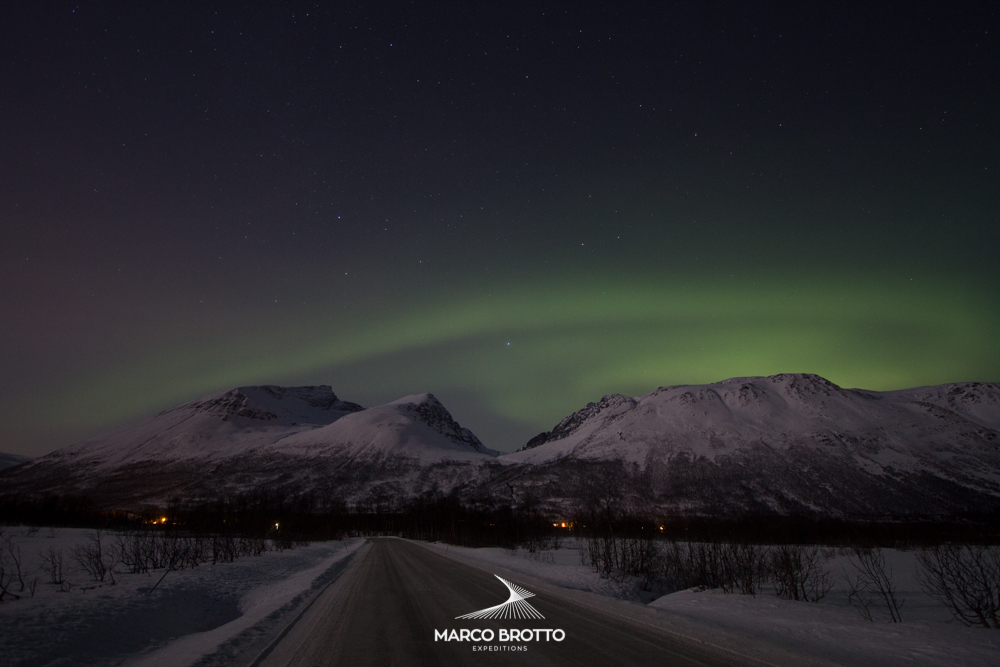 Fotografar aurora boreal