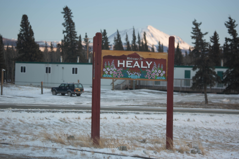 Na região de Healy, cidade proxima do Denali Park é um lugar que gosto muito de caçar aurora boreal.