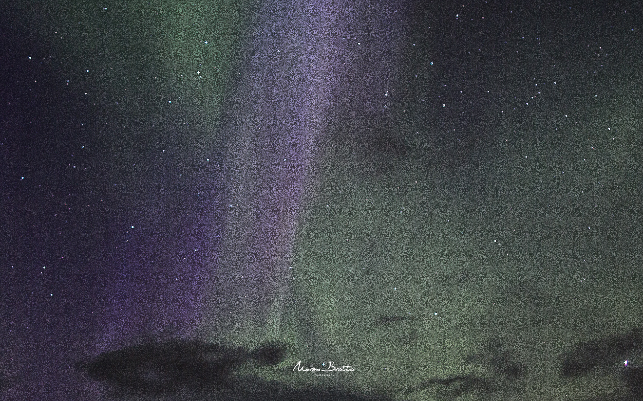 Aurora Boreal Laponia Marco Brotto, Photoimage 2015
