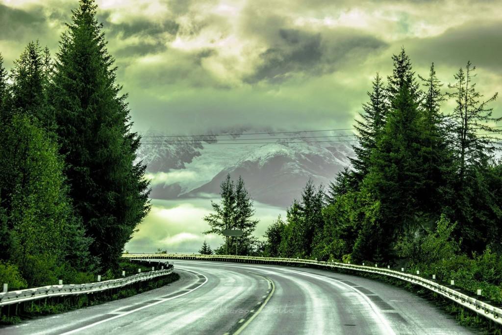 Alaska 1 , uma das estradas imperdíveis do mundo.