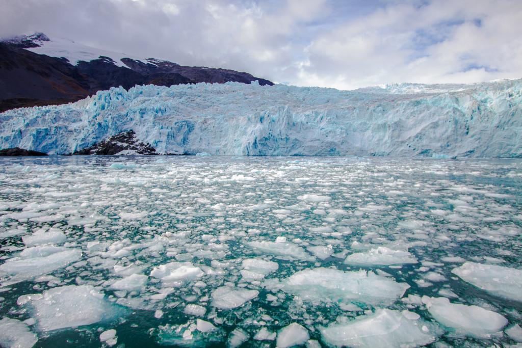 Um dos passeios de tirar o fôlego, uma incrível visão dos glaciais.