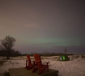 Aurora-boreal-horizonte