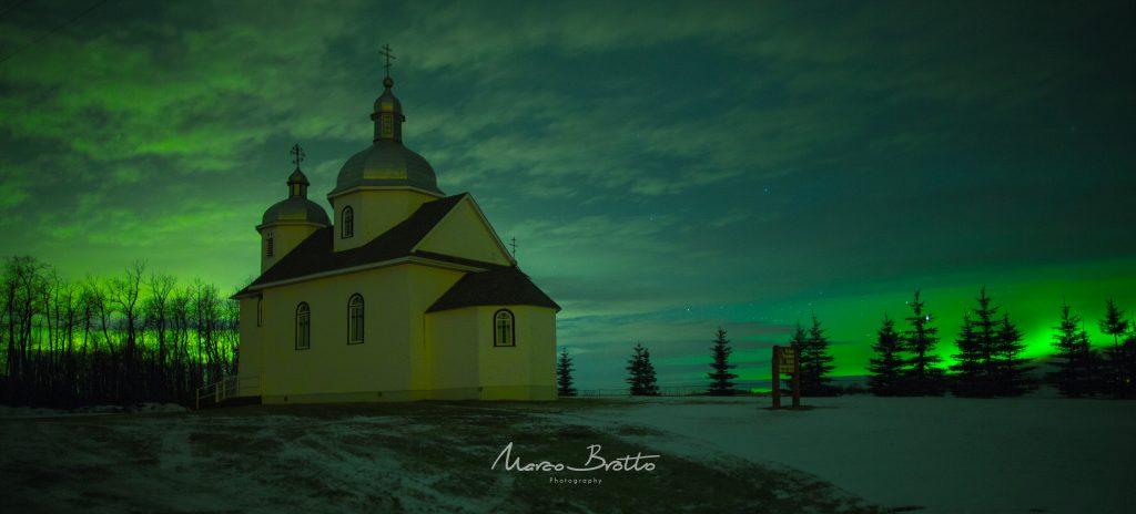 ver aurora boreal no Canadá
