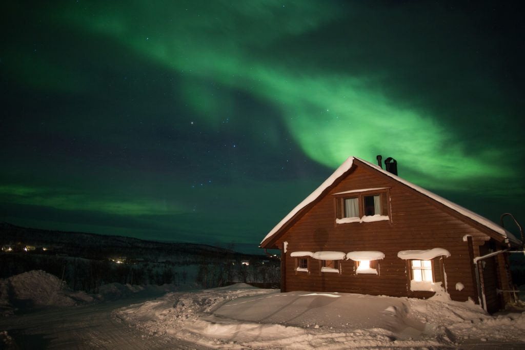 aurora-boreal-na-lapônia
