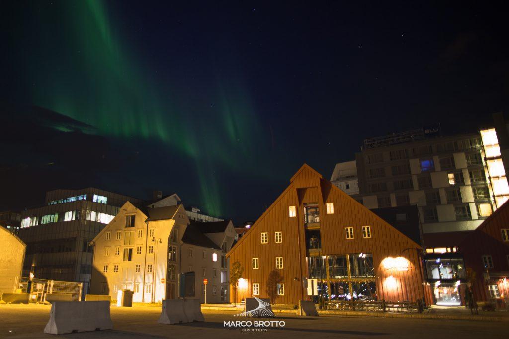 melhores lugares para ver aurora boreal laponia