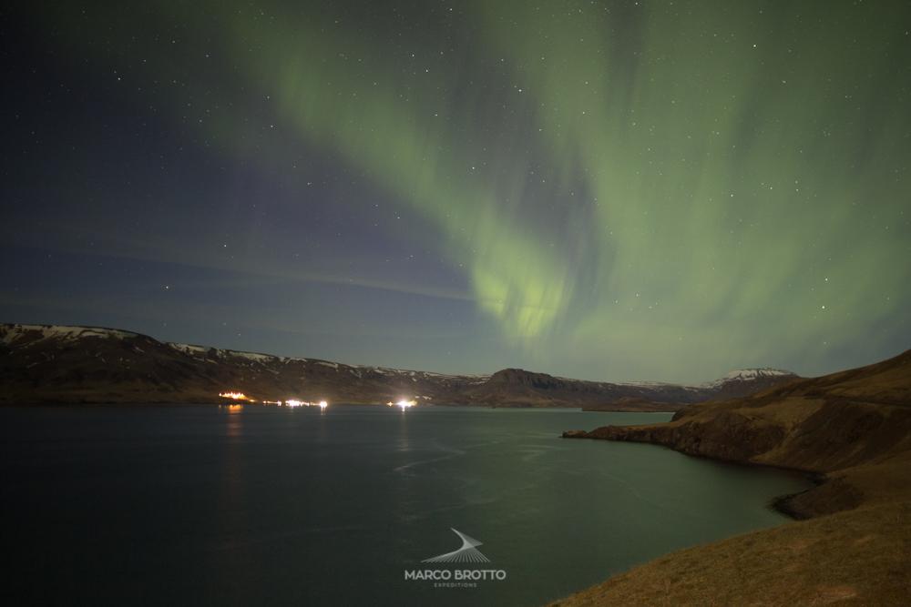 aurora boral na islandia viagem