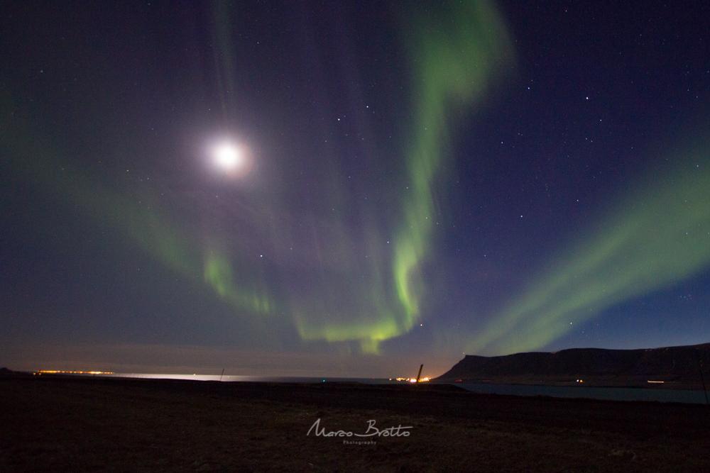 aurora boral na islandia - viajar