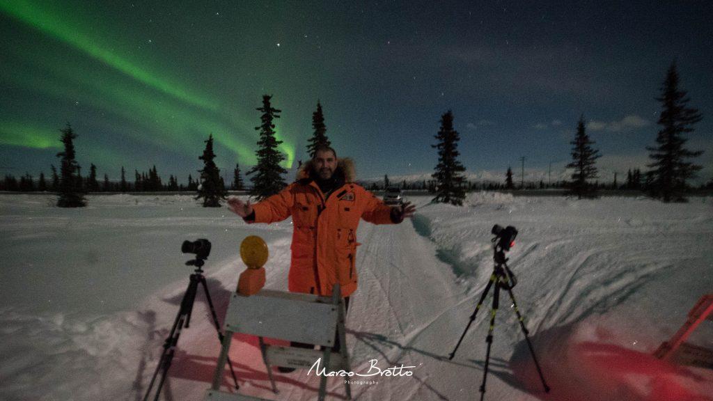 melhores lugares para ver aurora boreal alasca neve