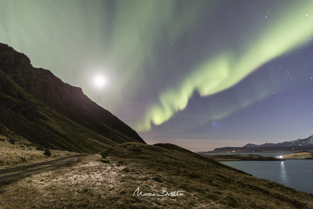 aurora boral na islandia iceland