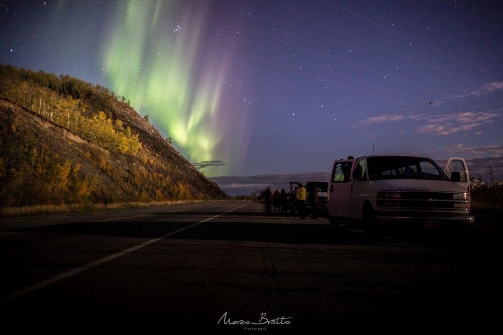 melhores lugares para ver aurora boreal no alasca