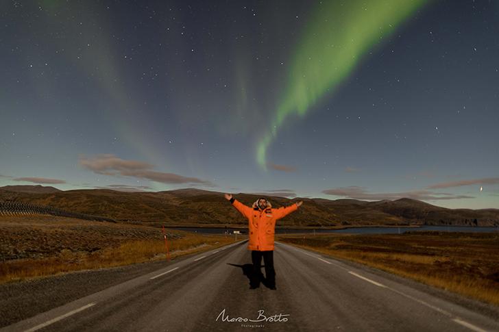 aurora boreal na noruega marco brotto