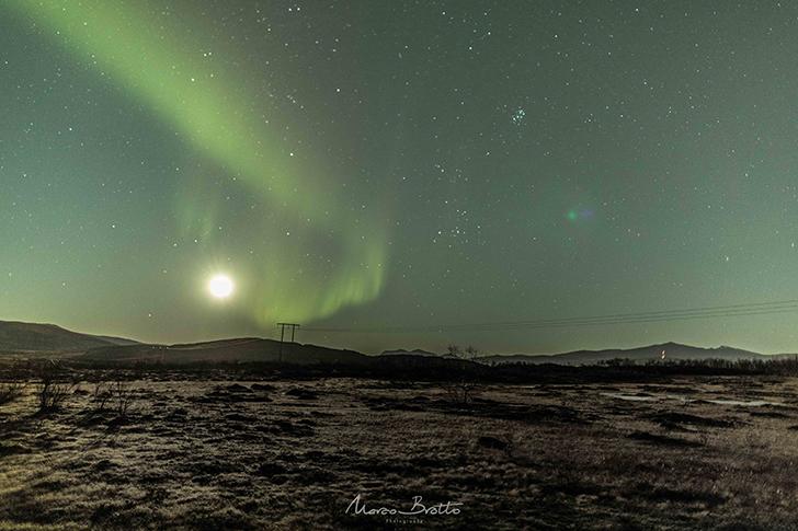 fotos aurora boreal na noruega