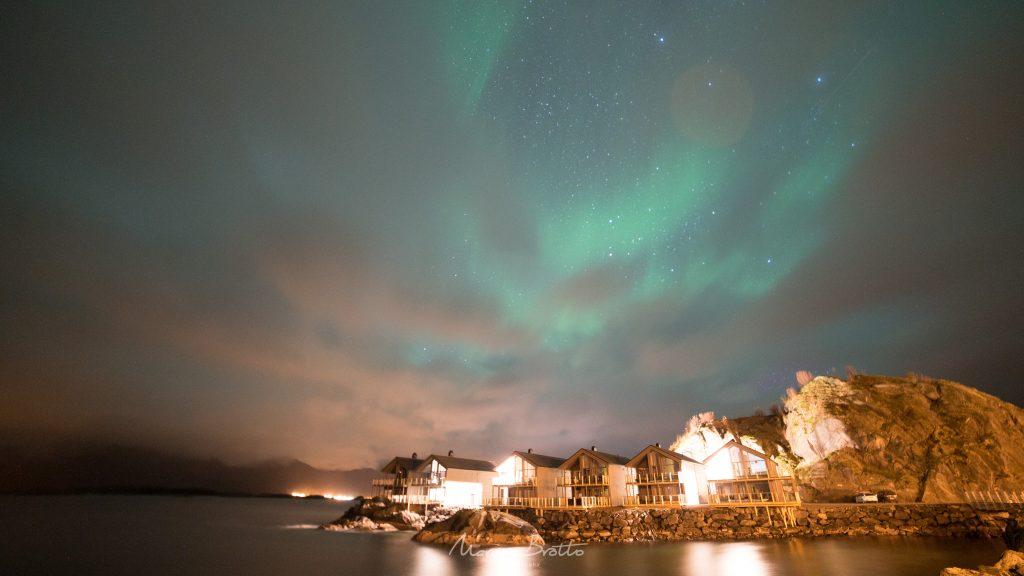 aurora boreal em tromso viagem noruega