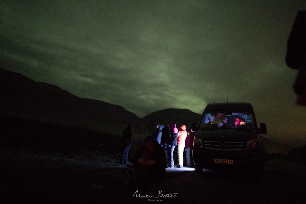 aurora boreal em tromso noruega finlandia