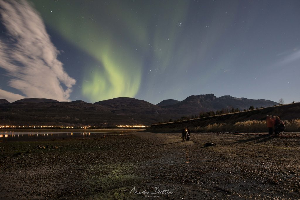 aurora boreal noruega em tromso