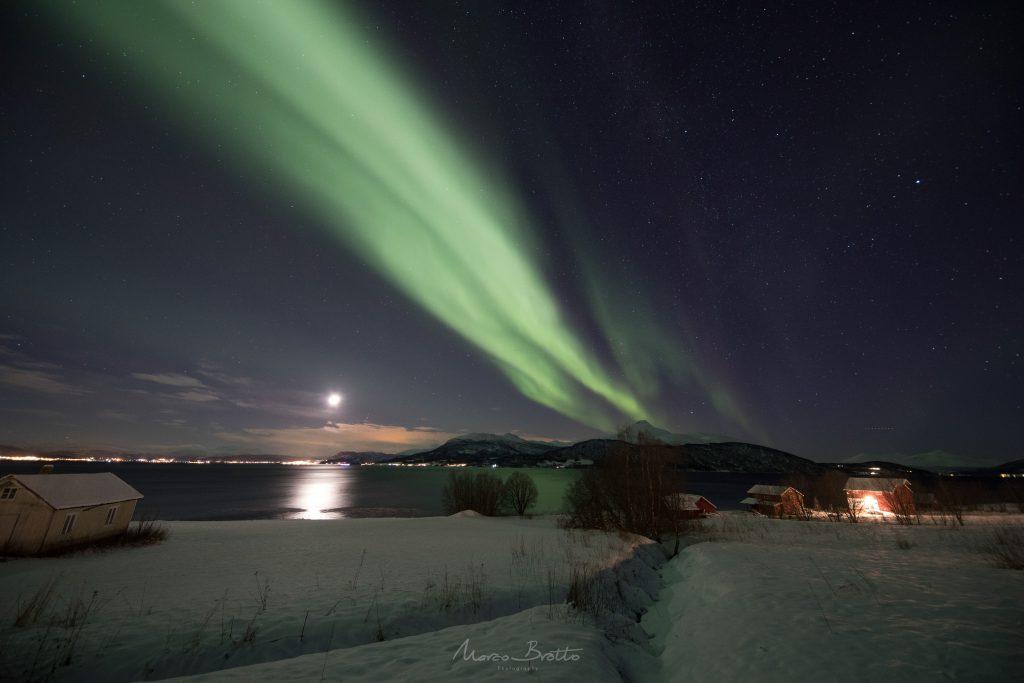 melhores lugares para ver aurora boreal noruega
