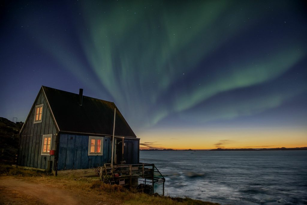 aurora-boreal-na-groenlandia-casa