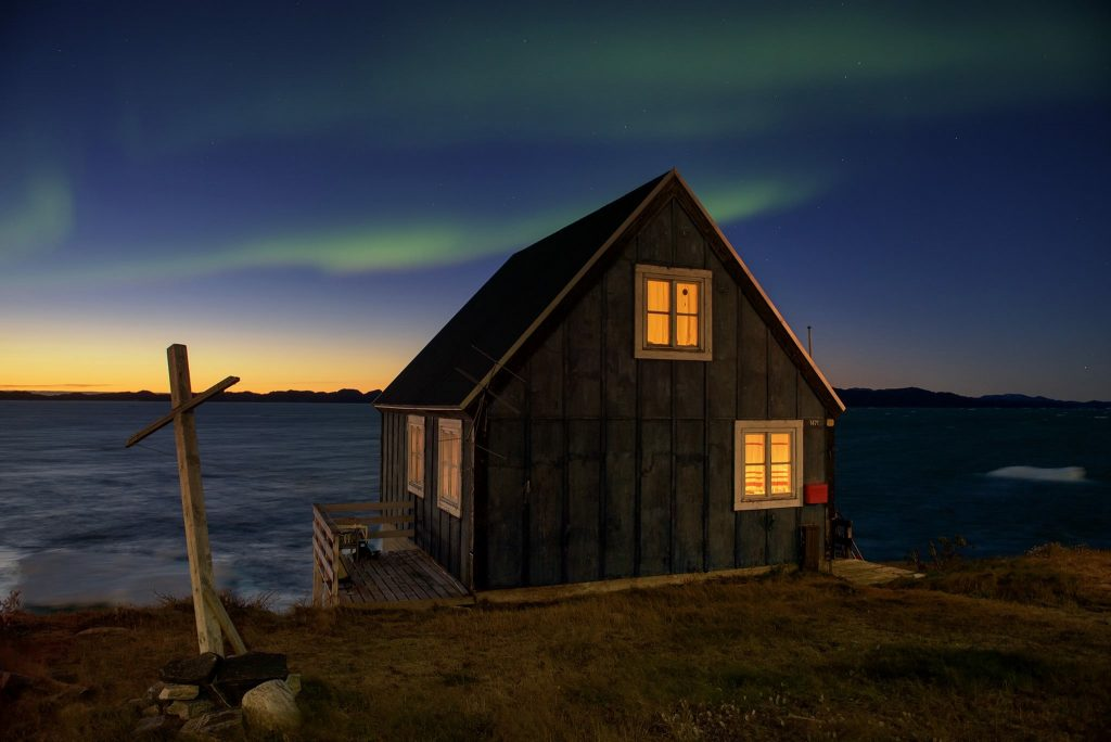 Sim, Aurora Boreal na Groenlândia!
