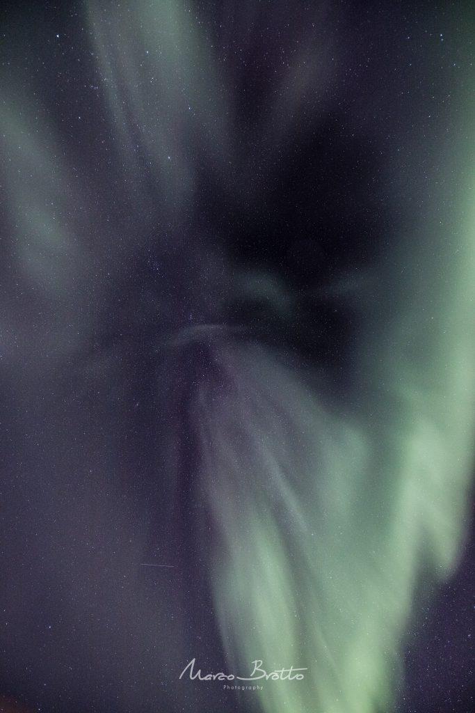 super aurora boreal no natal noruega