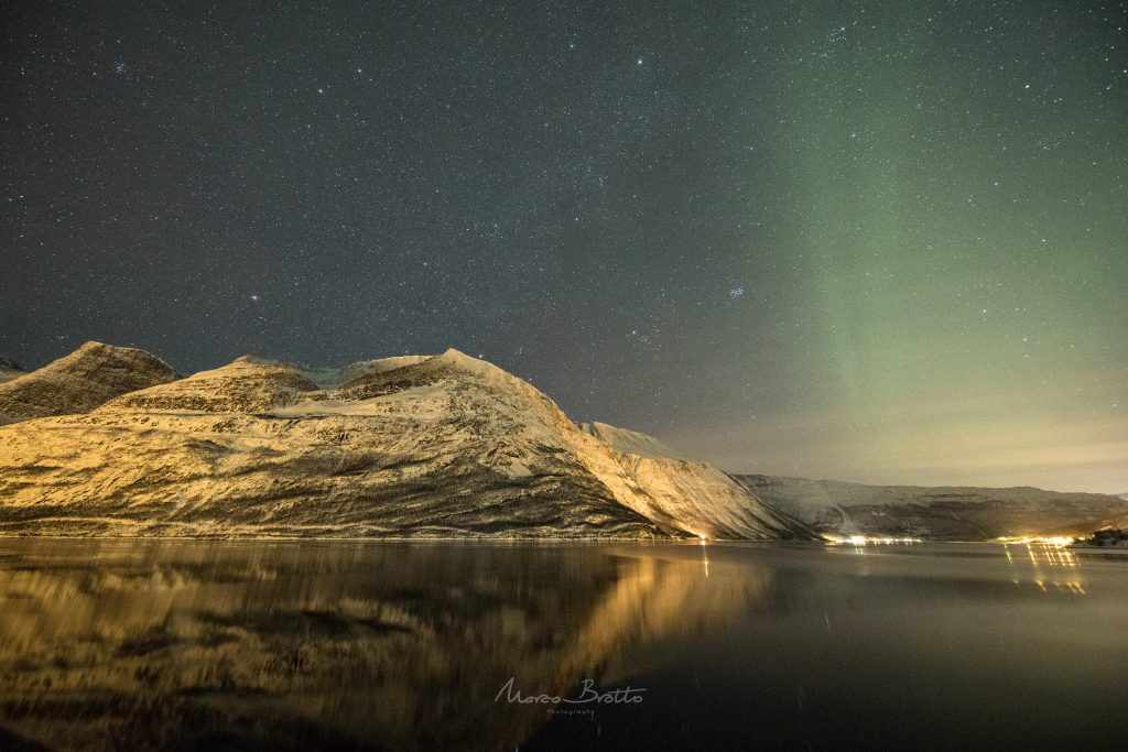 aurora boreal na lapônia finlandia
