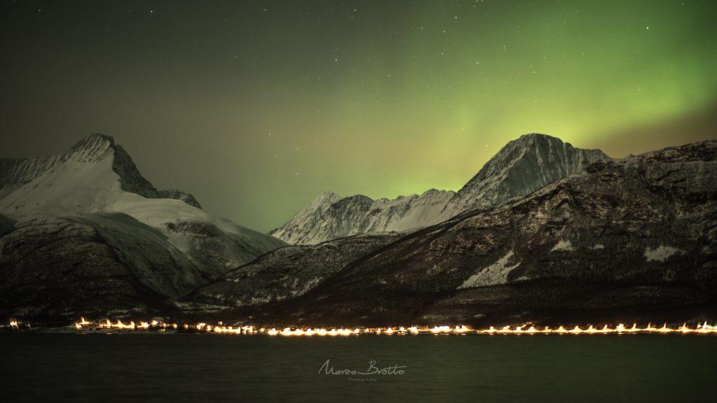 aurora boreal na lapônia 2017