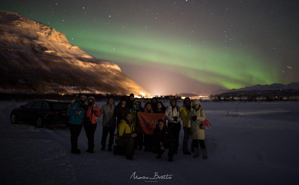 aurora boreal na lapônia viagem em grupo marco brotto