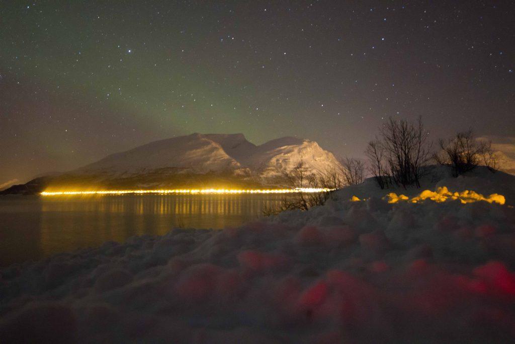 aurora boreal na lapônia super