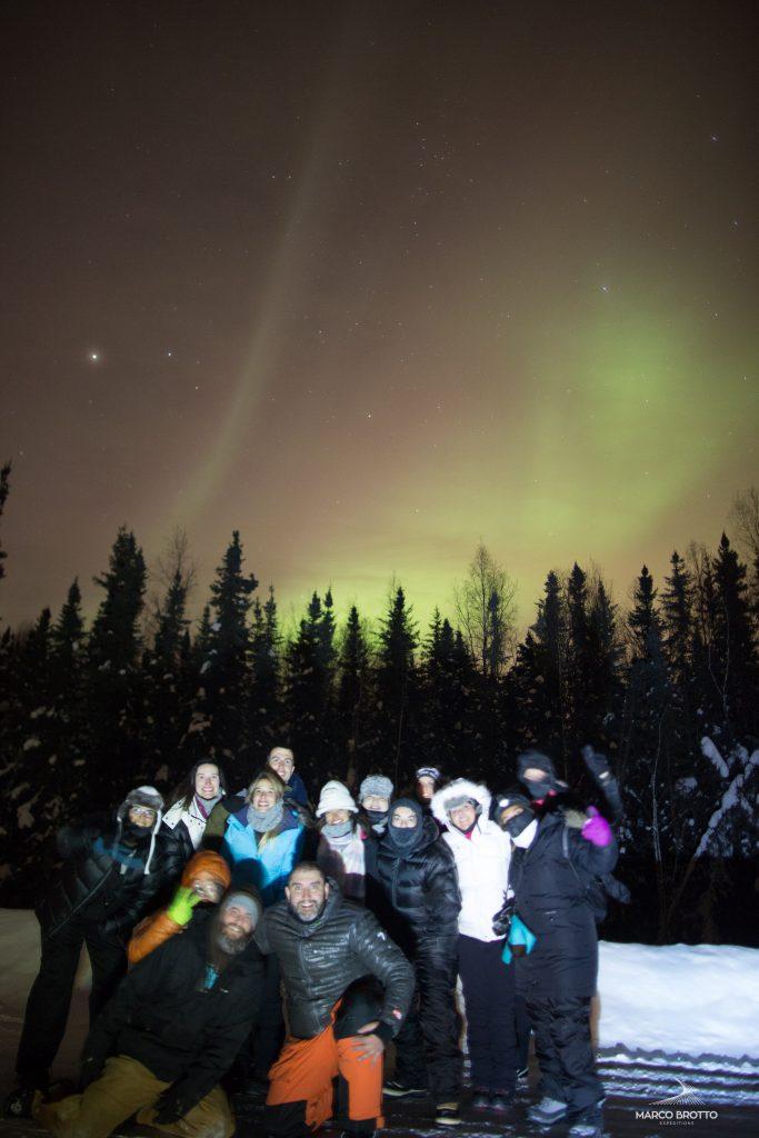 viagem aurora boreal no alaska grupo
