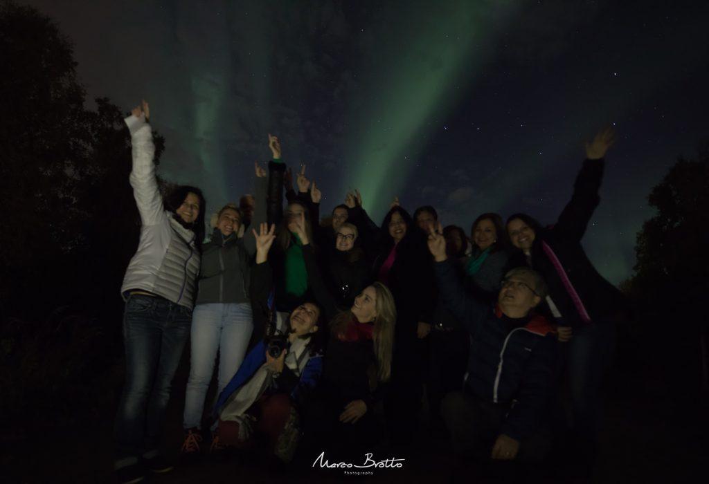 grupo para ver aurora boreal no alaska com marco brotto