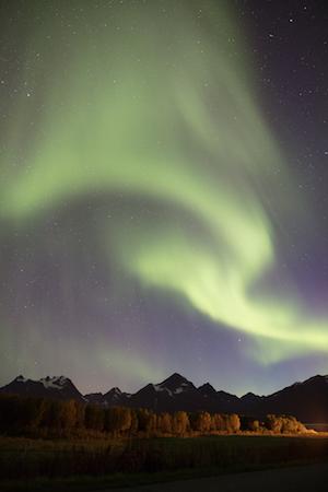 aurora boreal borealis laponia noruega