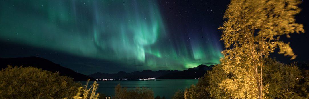 Noite de caçada na Noruega