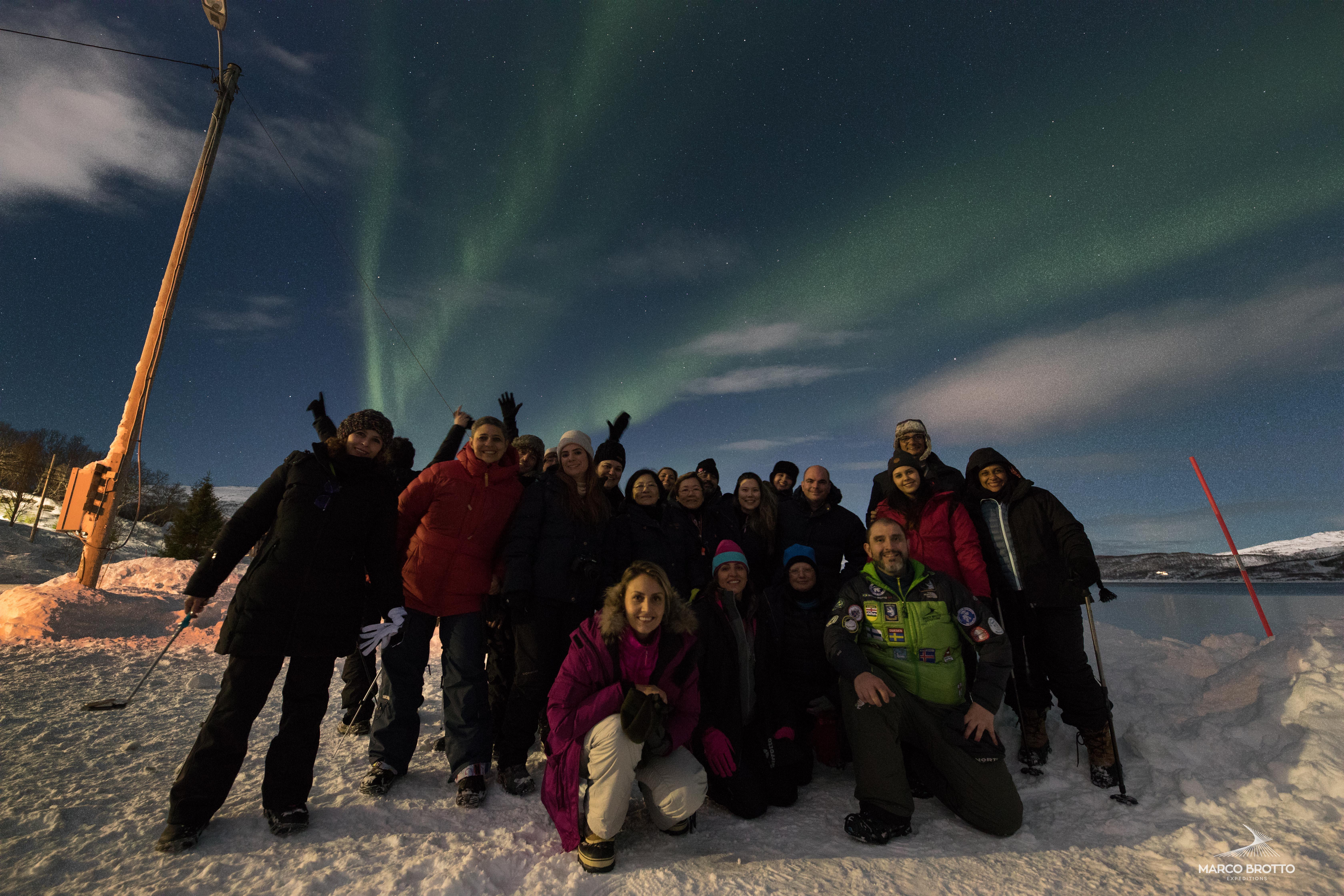 ano novo na lapônia ver aurora boreal