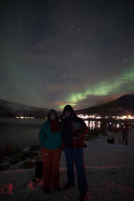 ver aurora boreal na lapônia novembro