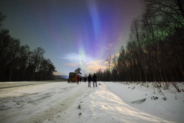 expedição para ver aurora boreal na laponia