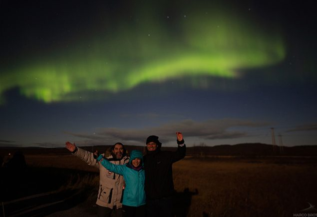 Aurora Boreal Noruega em Setembro