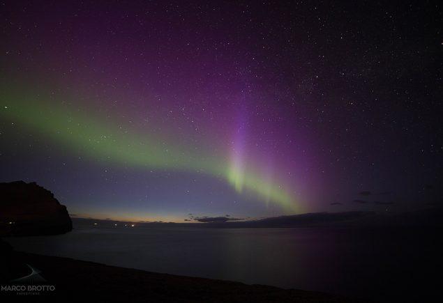 Aurora Boreal Ilhas Faroe