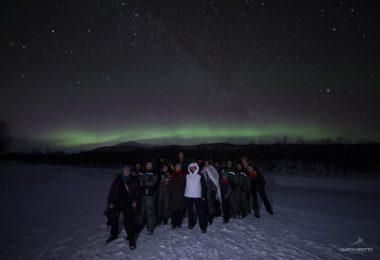 Aurora Boreal na Lapônia em Março 2020: Expedição #81
