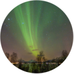 Posso ver Aurora Boreal no verão?