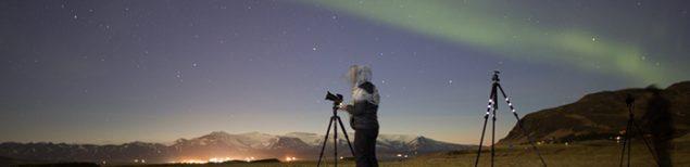Como faço pra fotografar Aurora Boreal?