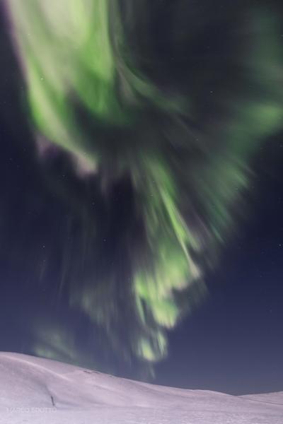 imagens e aurora boreal svalbard