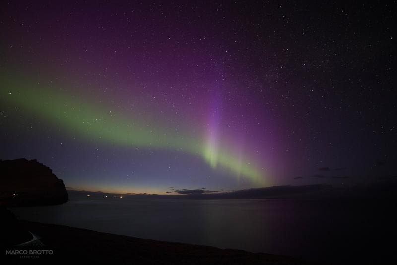 aurora boreal ilhas faroé