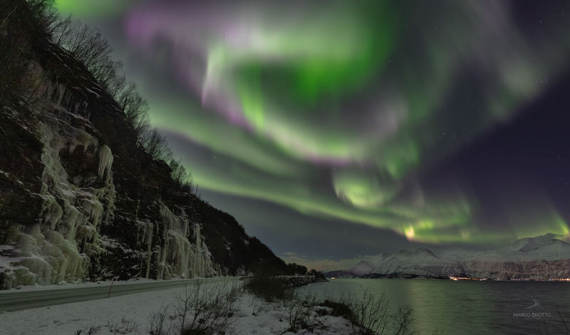 aurora boreal na laponia-17501