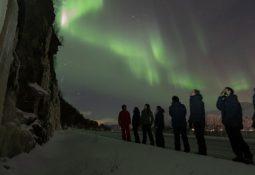 quais são as cores da Aurora Boreal