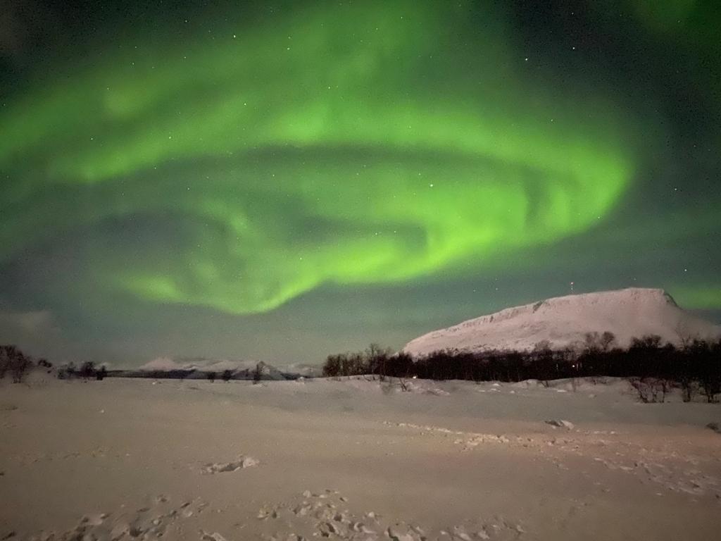 Fotos da Aurora Boreal com Marco Brotto