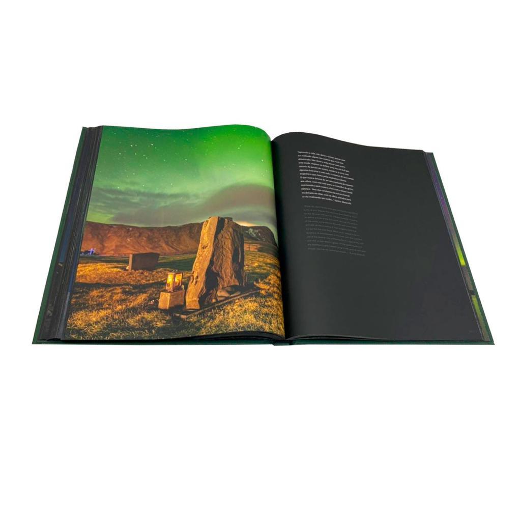 """""""Aurora Boreal: amor em forma de luzes e cores"""" será lançado neste mês de março"""
