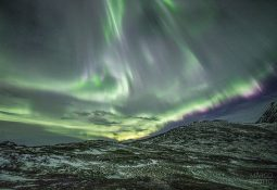 Aurora Boreal ocorre